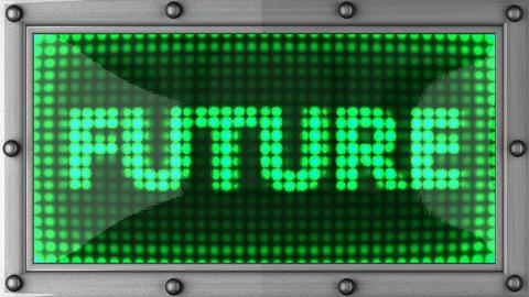 blinking lights(future) Stock Video Footage