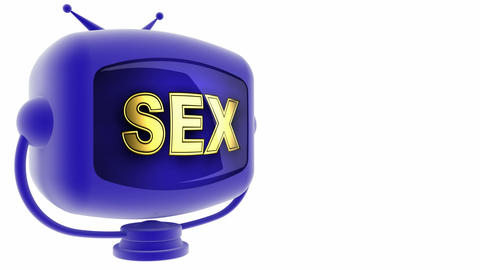 sex on loop alpha mated tv Stock Video Footage
