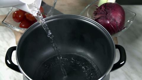 cooking soya 001 S HD Footage