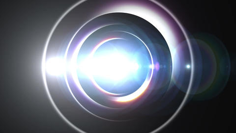 Opening intro Flash light flare A 4 white S 4k CG動画