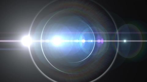 Opening intro Flash light flare B 4 white S 4k Animation