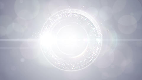 Opening intro Flash light flare W 3 white S 4k Animation