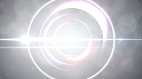 Opening intro Flash light flare W 4 white S 4k Animation
