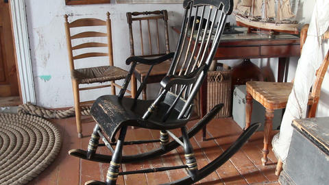 The black rocking chair Footage