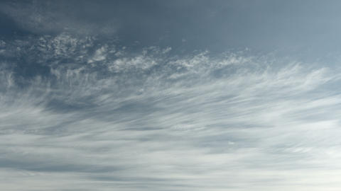 Heavenly cloudscape with layered clouds. Sky timel Footage