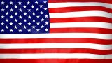Seamless Loop Waving USA Flag stock footage