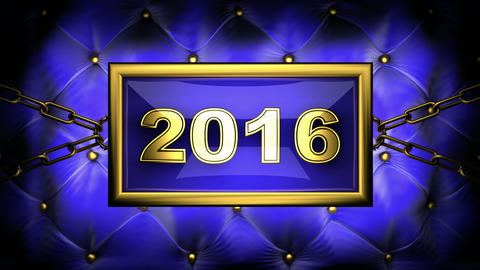 blinking monitor 2016 Stock Video Footage
