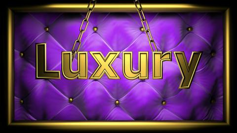 luxury violet Animation