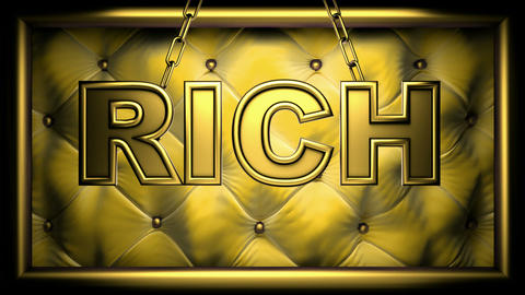 rich yellow Stock Video Footage