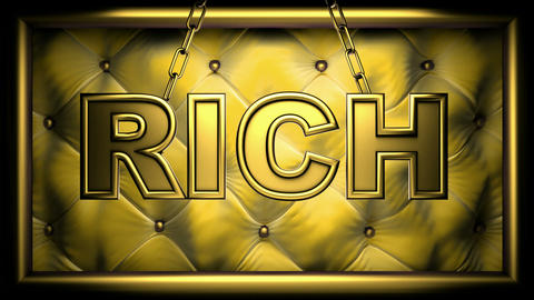 rich yellow Animation