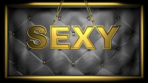 sexy black Stock Video Footage