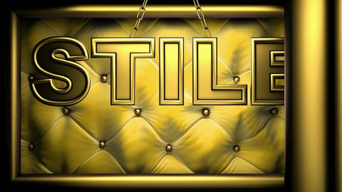 stile yellow Stock Video Footage