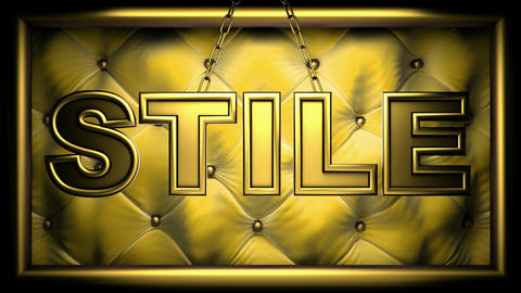 stile yellow Stock Video Footage