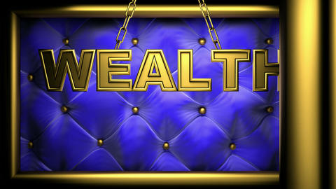 wealth blue Stock Video Footage
