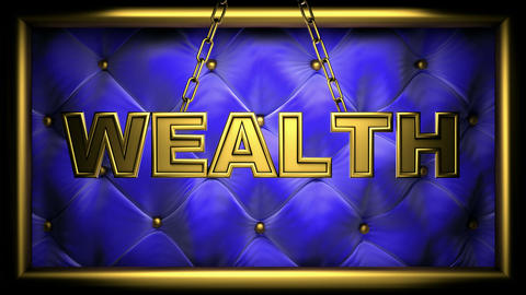 wealth blue Animation