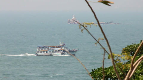 sea cruising Stock Video Footage