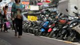 Street In Thailand stock footage