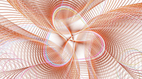 Abstract swirl. With alpha channel Animation