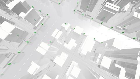 City Building AL07W HD Animation