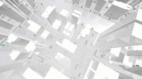 City Building AL07W HD Stock Video Footage
