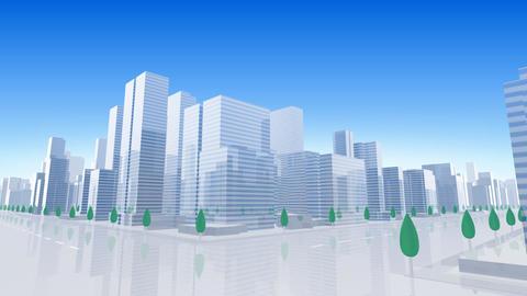 City Building B03B HD Stock Video Footage