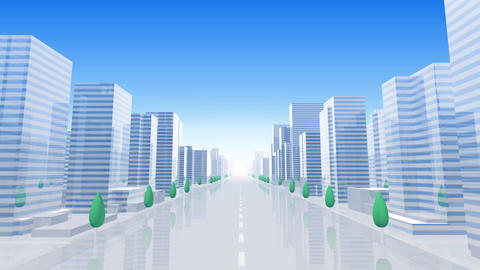 City Building B05B HD Stock Video Footage