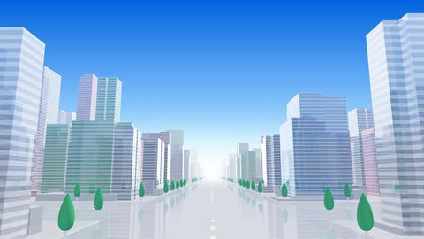 City Building BCL01B HD Stock Video Footage