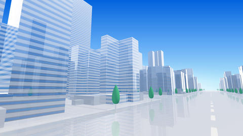 City Building BL06B HD Animation