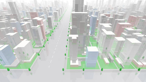 City Building GC04W HD Animation