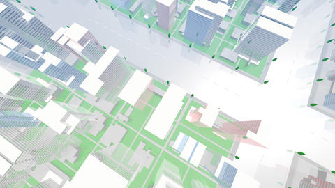 City Building GCL07B HD Stock Video Footage