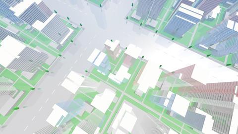 City Building GCL07B HD Animation