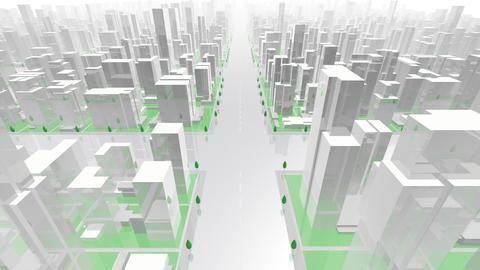 City Building GL02W HD Animation