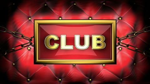 flashing monitor club Stock Video Footage