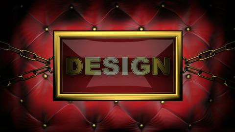 flashing monitor design Stock Video Footage