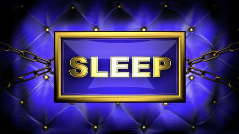 blinking monitor sleep Animation