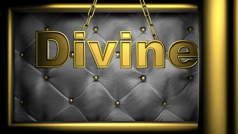 divine black Stock Video Footage