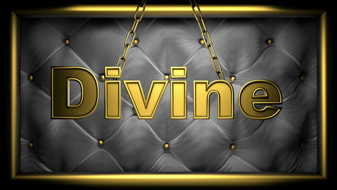 divine black Stock Video Footage