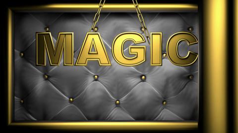 magic black Stock Video Footage