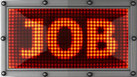 blinking lights(job) Stock Video Footage