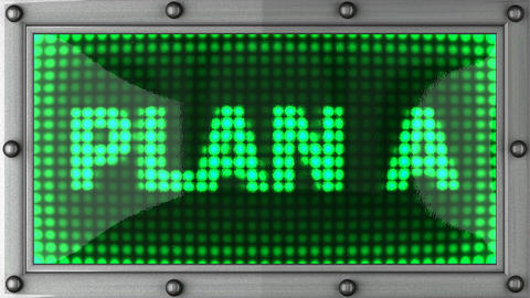 blinking lights(plan A) Stock Video Footage