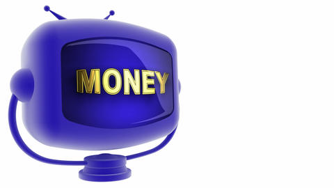 tv money blue Animation