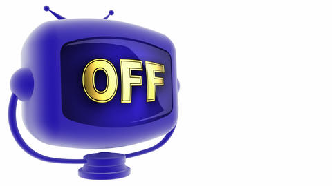 tv off Stock Video Footage