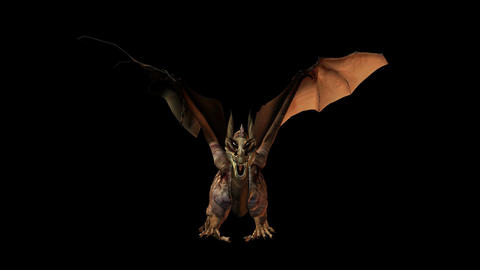 Dragon 1 HD Sound Animation