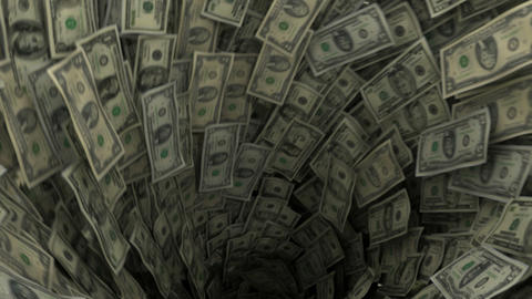 dollar vortex Stock Video Footage