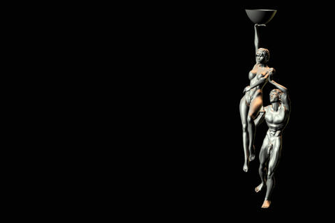statues 5 obj 3D Model