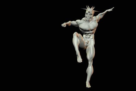 statues 7 obj 3D Model