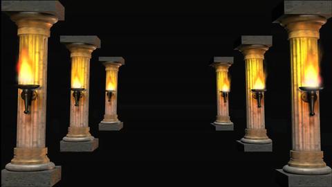 columns 4HD Stock Video Footage