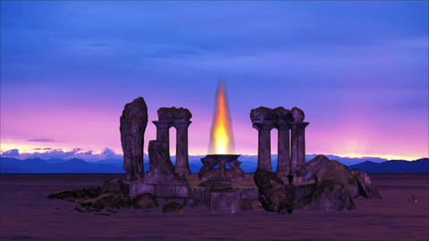 Temple Ruins HD 1 Seamless looping Animation