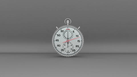 Second Zoom into Stopwatch Stock Video Footage