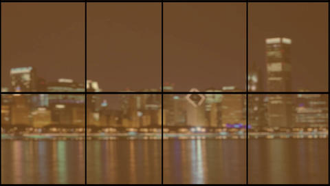 Chicago background HD 1 Stock Video Footage